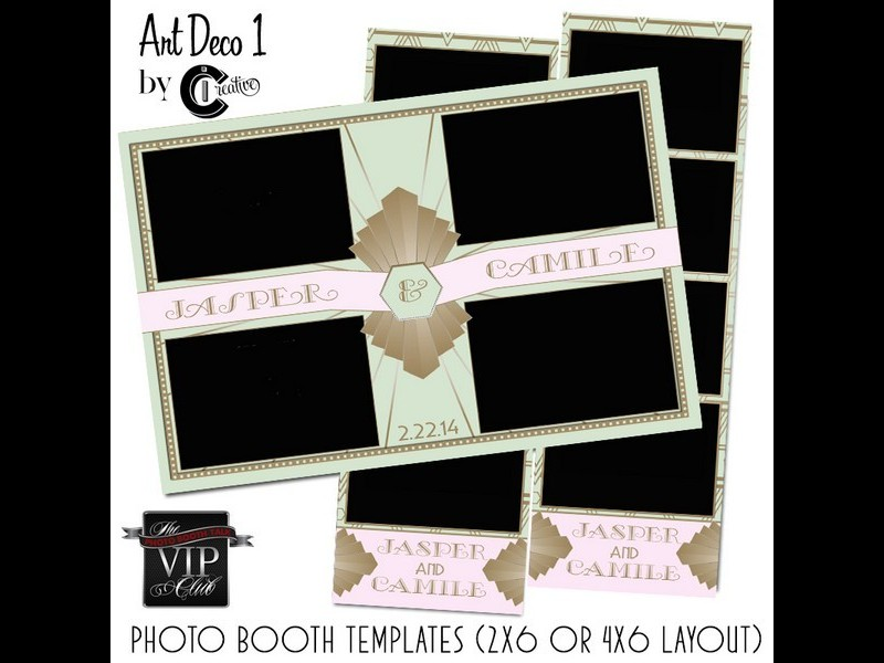 VIP Photo Booth Design Sets - Photo booth design templates