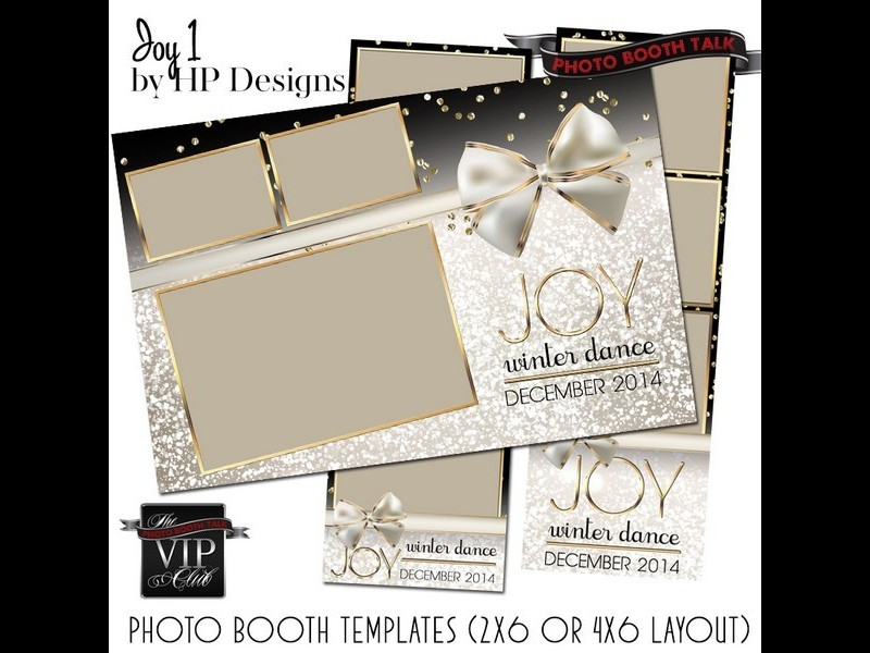 vip photo booth design sets