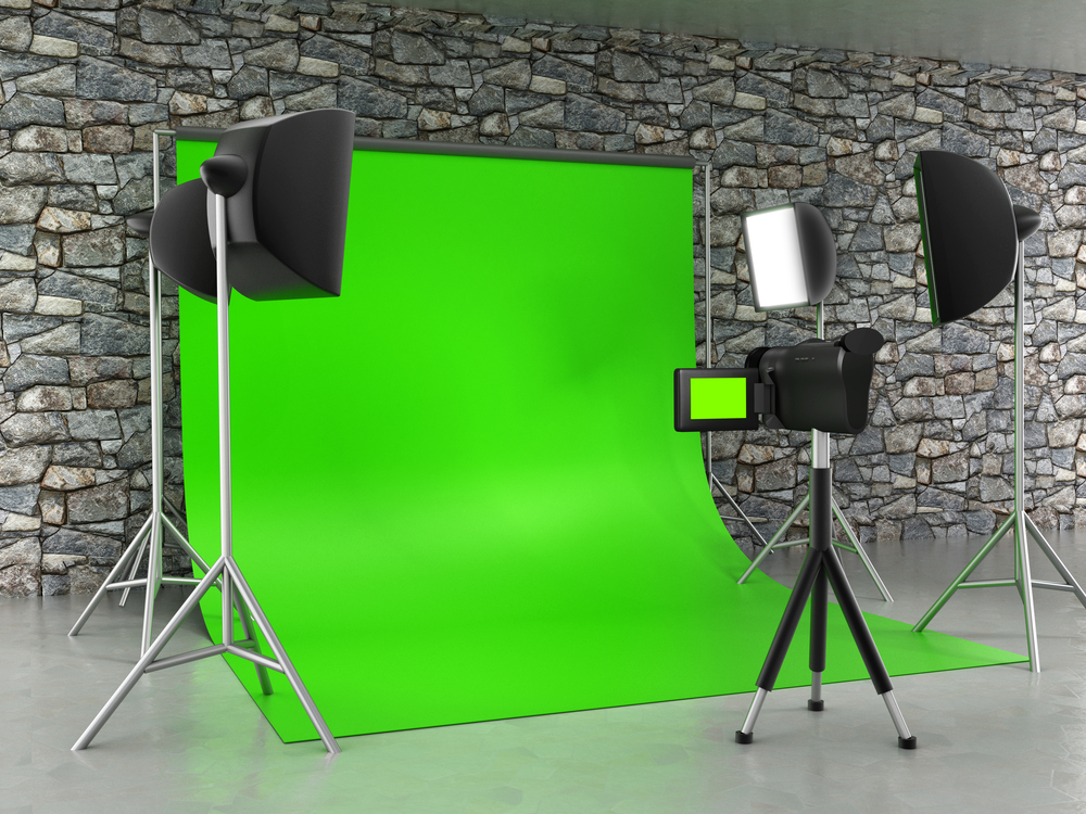 Green Screen Booth Party Rental in Cleveland